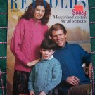 Vintage Reynolds Knitting Patterns Family Twist Stitch Cable Pullover Sweaters # 429