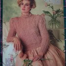 3 Reynolds Knitting Patterns Womens Sweaters Vest Hat 6 8 10 12 14 16 or S M L