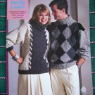1980's Vintage Knitting Patterns Kurlie Lamb 5 Misses & 1 Man's Sweaters # 216
