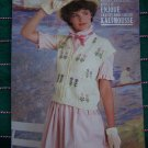 1980's Retro Misses Knitting 5 Womens Knit Patterns Fair Isle Book # 66