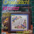 Cross Stitch Magazine # 15 March 1993 17 Patterns Charts Graphs