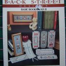 80's Vintage Back Street Basic Bookmarks 2 with 7 Cross Stitch Patterns