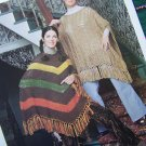 Vintage Haripin Crochet Patterns Mini Midi Maxi Skirts Ponchos Baby Afghan Pillows Book 7155