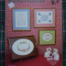 Vintage Patty Ann 3 Cross Stitch Embroidery Patterns Heavenly Thoughts #1 Leaflet 114