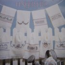 10 Cross Stitch Embroidery Patterns Bouquets for Fingertip Towels 927