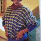 Womans Plus Size Knitting Pattern Pullover Patterned Sweater 1327