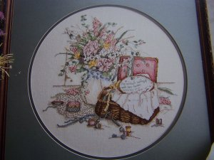 80's Paula Vaughan Embroidery Pattern Needlewoman The Embroiderer # 829 Book 30