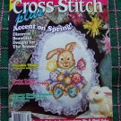 USA 1 Cent Shipping Cross Stitch Plus Patterns 15 Projects Summer Spring March 1995