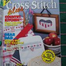 1 Cent Shipping Specials USA 20 Cross Stitch Patterns Plus Magazine July 1993