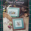 1 Cent USA S&H Vintage 80's Paula Vaughan Fresh Cuttings Needlework Pattern Leaflet 553 Book 11