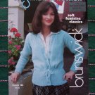 Vintage Classic Misses 3 Crocheting & 7 Knitting Patterns Booklet Brunswick 783