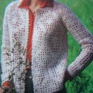 3 Retro Misses Knitting Patterns Bernat Lacy Textured Sweaters Book 271 Sz 8 10 12 14 16 18