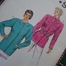 Vintage 80's Sewing Pattern Misses Tunic Jacket 14 16 18 20 Kwik Sew 1535