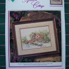 1 Cent S&H US Cross Stitch Pattern Ashdon Cottage Victorian Mansion Scene