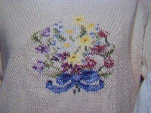 USA 1 Cent S&H Hollie Designs Duplicate Cross Stitch Patterns Floral Farmer Wife Santa Claus