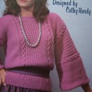 1 Cent USA S&H Vintage Knitting Patterns Misses Pullover Knit Sweaters