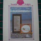 1 Cent USA S&H Vintage Footprints Embroidery Cross Stitch Pattern 16 x 9""