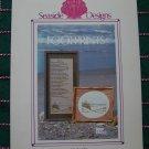 "1 Cent USA S&H Vintage Footprints Embroidery Cross Stitch Pattern 16 x 9"""