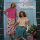 Retro Knitting Patterns Summer Tops Eyelet Cable Daisy Panel Shell Bowknot Stitch 427