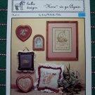Bunny Rabbit 5 Vintage Hollie Designs Cross Stitch Patterns Hare We Go Again Book 30