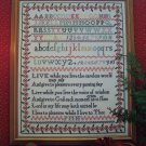 1 Cent US S&H Sampler Pattern Life & Pleasure Cross Stitch Needlework