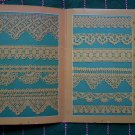 1 Cent S&H USA Vintage Patterns Book 27 Thread Crochet Knitting Tatting Edgings