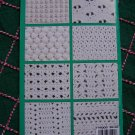 Patterns for Crochet Stitches and Easy Beginner Projects Book Leisure Arts