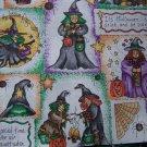 Halloween Cotton Fabric Squares Dianna Marcum Craft Sewing Quilt Material