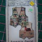 Scraps of Time Misses Fabric Applique Pattern Country Charm Vest S M L