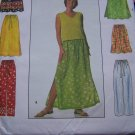 Simplicity Sewing Pattern 6 Made Easy Skirts & Pants XS S M Elastic Waist