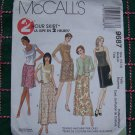 McCall's Sewing Pattern 9687 Misses 8 10 Skirts A Line Slim Overskirt 1 Cent USA S&H