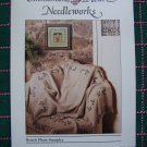 1 Cent S&H USA Cross Stitch Cinnamon Heart Needleworks Sampler Afghan Leaflet Pattern