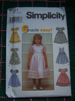 Pillowcase Dress Pattern Children Clothing by FootLooseFancyFree