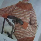 1960's Vintage Knitting Patterns Hand Knits 25 Womens & Mens Book 71