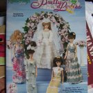 Crochet Patterns Barbie Fashion Doll Pretty Ladies 5 Gowns Wedding Dress