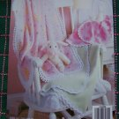 6 Crochet Patterns Fleece Fabric Edgings Baby's Choice Leisure Arts