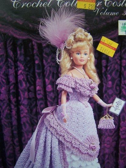 Paradise Crochet Pattern 38 Barbie Doll 1876 Debutante Ball Gown Shoes ...