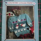 Vintage Womens Country Pullover Sweaters Knitting Patterns Bouquet Spinrite 1212