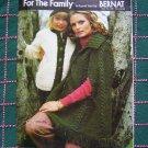 Bernat Vintage 70's Knitting Patterns Sweaters for Family Mens Misses Kids Book 209