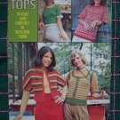 1970's Minerva Columbia Crochet & Knitting Misses S M L Tops Vest Patterns 2551