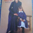 Mommy & Me Misses 8 - 22 Girls 3 - 8 Winter Dresses Girl Petticoat Sewing Pattern 2346