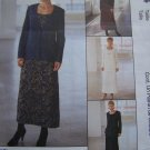 1 Cent USA S&H  8 10 12 Misses 3 Hour Dress & Unlined Jacket Sewing Pattern 9564