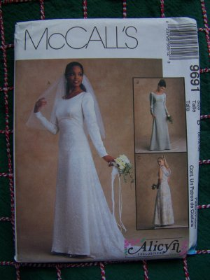 Cashier Check Wedding Gift : Alicyn Sewing Pattern Wedding Gown Bridesmaid Dress 8 10 12 McCalls ...