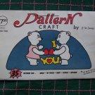 35 Vintage Craft Patterns Book 2 Wood Tin Tole Stencil Applique Needle Crafts