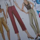 USA 1 Cent Ship Uncut  Misses 12 14 16 Straight or Tapered Pants Vogue Sewing Patterns 7858