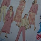 Free USA S&H Misses Butterick Sewing Pattern 4402 Jacket Top Dress Skirt Pants 8 10 12 14