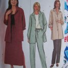 Free US S&H Easy Butterick Sewing Pattern 8 10 12 Shirt Jacket Ankle Skirt Tapered Pants 3914
