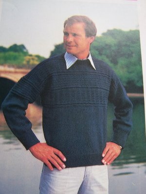 Ravelry: Child's Fisherman Knit Sweater pattern by Bernat