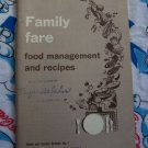 FREE USA S&H Over 100 Recipes Vintage Cookbook Family Fare US Dept Of Agriculture
