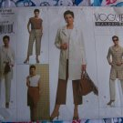 New Vogue Sewing Pattern 2795 Sz 14 16 18 Misses Suit Jacket Top Skirt Pants
